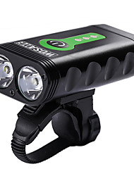 cheap -Front Bike Light / Headlight - Cycling Waterproof, Portable, Adjustable Lithium Battery 2400 lm Cycling / Bike - WOSAWE