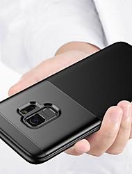 Недорогие -Кейс для Назначение SSamsung Galaxy S9 Plus / S9 Матовое Кейс на заднюю панель Однотонный Мягкий ТПУ для S9 / S9 Plus