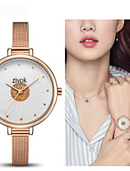 cheap -Women's Dress Watch / Wrist Watch Chinese New Design / Casual Watch Alloy Band Casual / Fashion Silver / Gold / Rose Gold / Sony SR920SW / Two Years
