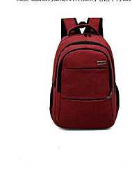 cheap -Unisex Bags PU(Polyurethane) School Bag Zipper Blue / Black / Red