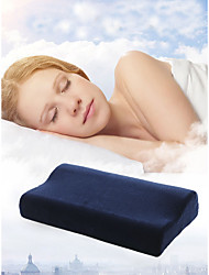 Недорогие -Комфортное качество Запоминающие форму тела подушки / Запоминающие форму подушки для шеи Противоклещевой / Стрейч / Портативные подушка