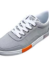povoljno -Muškarci Cipele Platno Proljeće & Jesen Udobne cipele Sneakers Sive boje / Crno / crvena / Crna / plava
