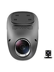 economico -E01 1080p Visione notturna Automobile DVR 140 Gradi Angolo ampio No schermo (uscita da APP) Dash Cam con GPS / G-Sensor / Registratore