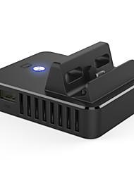 Недорогие -HC-A3566 Проводное Зарядное устройство Кронштейн ручки Назначение Nintendo Переключатель,ABS Зарядное устройство Кронштейн ручки USB 2.0