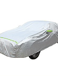 cheap -Full Coverage Car Covers Cotton Reflective / Warning bar For Honda Civic All years For All Seasons