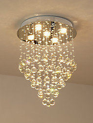 cheap -Chandelier / Flush Mount Others Metal Crystal, Bulb Included 220V / 110V Bulb Included / GU10