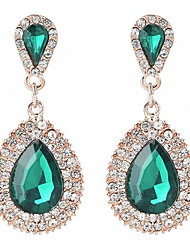 cheap -Women's Drop Earrings - Vintage, Ethnic, Statement White / Green / Blue For Evening Party / Date