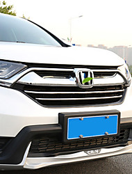 cheap -2pcs Car Car Front Grille Decoration Business Paste Type For Car Front Grille For Honda CRV 2017