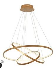 Недорогие -Ecolight™ Круглый Люстры и лампы Рассеянное освещение Окрашенные отделки Алюминий 110-120Вольт / 220-240Вольт Белый / Диммируемый с дистанционным управлением / Wi-Fi Smart / CE / FCC
