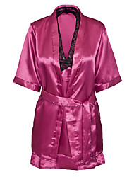 abordables -Mujer Uniforme y Cheongsam Ropa de dormir - Estampado, Bordado