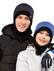 cheap -VEPEAL Skull Cap Beanie Winter Keep Warm / Windproof Hiking / Climbing / Ski Unisex Acrylic / Fleece / Mohair Patchwork