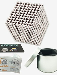 cheap -1000 pcs Magnet Toy Magnetic Balls / Magnet Toy / Building Blocks Magnetic Stress and Anxiety Relief / Office Desk Toys / Relieves ADD, ADHD, Anxiety, Autism Novelty All Adults' Gift