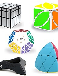 baratos -Rubik's Cube 8 Pças. QIYI B Alienígeno / MegaMinx / Mastermorphix 5*5*5 / 3*3*3 Cubo Macio de Velocidade Cubos mágicos / Cubos de Rubik