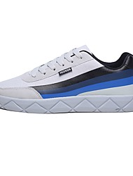 cheap -Men's Shoes Fabric Summer Comfort Sneakers White / Black / Gray