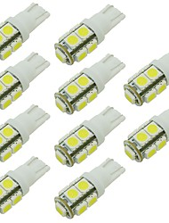 cheap -10pcs T10 Car Light Bulbs 2W SMD 5050 90lm 9 LED Interior Lights For universal / General Motors Universal Universal