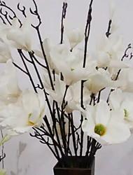 abordables -Fleurs artificielles 1 Traditionnel Pivoines Arbre de Noël