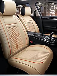 Недорогие -ODEER Подушечки на автокресло Чехлы для сидений Бежевый текстильный / Кожа PU Общий for Универсальный Все года Все модели
