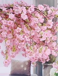abordables -Fleurs artificielles 1 Rustique / Traditionnel Cerisier du Japon Arbre de Noël
