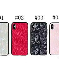economico -Custodia Per Apple iPhone X Glitterato Per retro Glitterato Resistente Vetro temperato per iPhone X