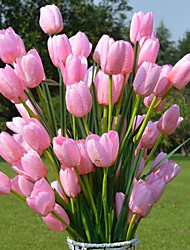 abordables -Fleurs artificielles 1 Une succursale Fête / Soirée Tulipes Arbre de Noël