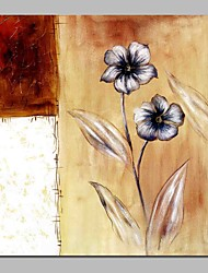 cheap -Oil Painting Hand Painted - Still Life Floral / Botanical Comtemporary Canvas