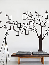 cheap -Decorative Wall Stickers Photo Stickers - Plane Wall Stickers Animals Floral / Botanical Living Room Bedroom Bathroom Kitchen Dining Room