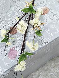 abordables -Fleurs artificielles 1 Une succursale Rustique Cerisier du Japon Arbre de Noël