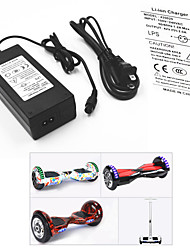 cheap -Power Adapter / Cable for Smart Balancing Scooter / Electric Battery Charger 42 V 2 A Input 100-240 V AC for Hoverboard / Caster Board 13.8*6.0*3.6 cm Plastic