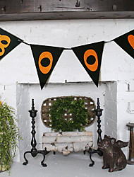cheap -Halloween Nonwoven Fabric / Nonwoven Wedding Decorations Houses Winter