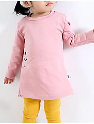 cheap -Baby Girls' Geometric Long Sleeves Dress