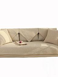 Недорогие -Накидка на диван Однотонный Активный краситель Полиэфир / хлопок Чехол с функцией перевода в режим сна