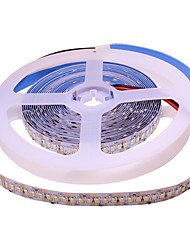 cheap -5m Flexible LED Light Strips 240 LEDs 3014 SMD Warm White / Cold White Self-adhesive / TV Background 12 V 1pc