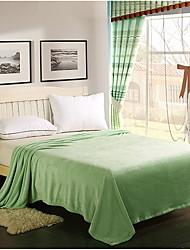 Недорогие -Супер мягкий, Принт и жаккард В клетку Акриловые волокна Полиэфир / полиамид одеяла