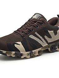 Недорогие -Муж. обувь Тюль Лето / Осень Удобная обувь Спортивная обувь Беговая обувь Серый / Кофейный / Зеленый