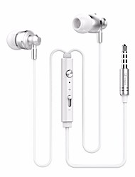 cheap -M300 In Ear Wired Headphones Metal Mobile Phone Earphone Headset