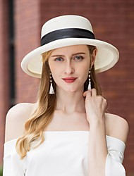 cheap -Polyester Hats with Braided Strap / Plain Top 1pc Casual / Daily Wear Headpiece