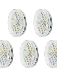 cheap -5pcs 3.5W 60 LEDs LED Cabinet Lights Warm White Cold White Natural White 220-240V Cabinet Ceiling Hallway / Stairwell Home / Office