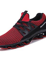 Недорогие -Муж. Резина Лето Удобная обувь Спортивная обувь Для прогулок Белый / Черный / Красный