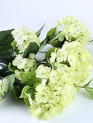 abordables -Fleurs artificielles 1 Une succursale Rustique Fleurs éternelles Arbre de Noël