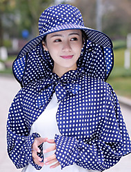cheap -Hat Summer Lightweight / Quick Dry / UV resistant Fishing / Traveling Women's Cotton Dots