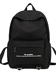 Недорогие -Универсальные Мешки Нейлон рюкзак Молнии Красный / Серый / Лиловый
