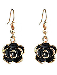 cheap -Drop Earrings - Floral / Botanicals, Flower Gold / Silver For Daily / Going out