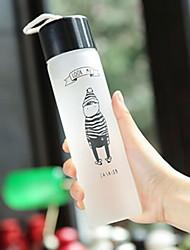 povoljno -Drinkware Visoko srebrno staklo Staklo / Posuda za četkice za pranje zuba Prijenosno / Toplinski izolirani 1pcs