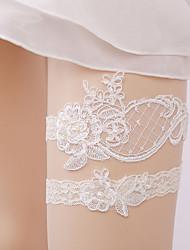 baratos -Renda De Renda Wedding Garter  -  Renda Ligas Casamento / Festas & Noite