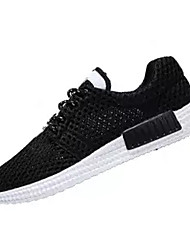 cheap -Men's Tulle Spring / Summer Comfort Athletic Shoes White / Black / Blue