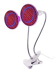 economico -1pc 20W 1500lm E26 / E27 Lampada in crescita 200 Perline LED SMD 2835 Clip porta lampada flessibile Decorativo Blu Rosso 85-265V