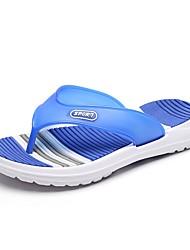 cheap -Men's Light Soles Rubber Summer Slippers & Flip-Flops Orange / Gray / White / Blue