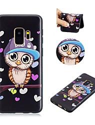 baratos -Capinha Para Samsung Galaxy S9 Ultra-Fina / Adorável Capa traseira Corujas Macia TPU para S9