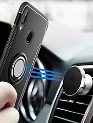 economico -Custodia Per Huawei P20 lite P20 Supporto ad anello Per retro Armatura Resistente PC per Huawei P20 lite Huawei P20 P10 Plus P10 Lite P10