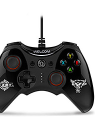cheap -WE-888S Wired Game Controllers For Android / PC Vibration Game Controllers ABS 1pcs unit USB 2.0